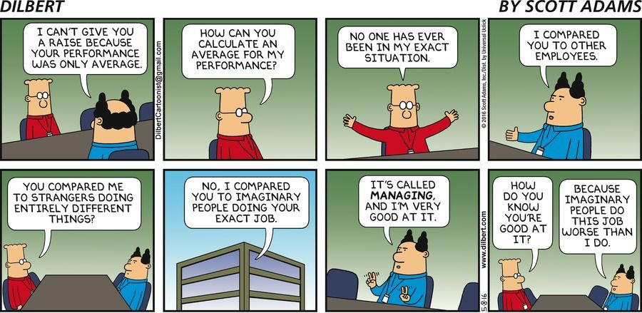 About those performance reviews...