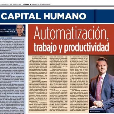 Automatización, trabajo y productividad